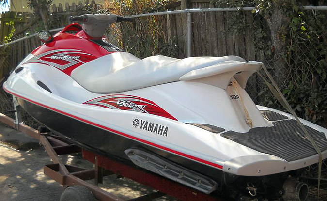 Wave Runner Yamaha Fiberglass Repair Completed