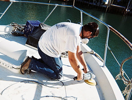 captain levis fiberglass boat repair